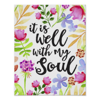 It Is Well Art Print
