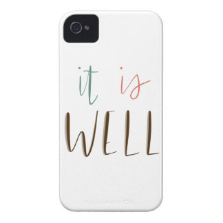 It Is Well iPhone 4 Cover