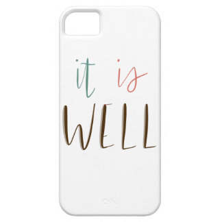 It Is Well iPhone SE/5/5s Case