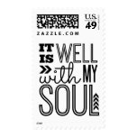 It is Well With My Soul Postage Stamp