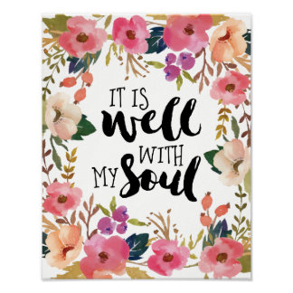 It is Well with my Soul Poster