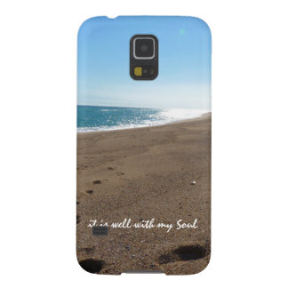 It is Well With My Soul Quote Beach Samsung Galaxy Nexus Case