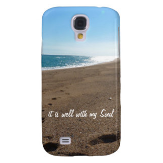 It is Well With My Soul Quote Beach HTC Vivid / Raider 4G Cover