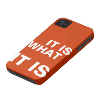 It is What it is iPhone 4 Case-Mate Case