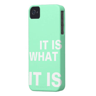 It is What it is iPhone 4 Cover