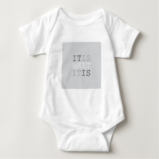 It Is What It Is - Gray T Shirts