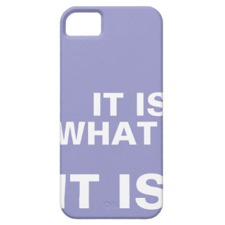 It is What it is iphone covers iPhone 5 Case