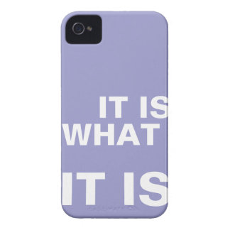 It is What it is iphone covers iPhone 4 Cover