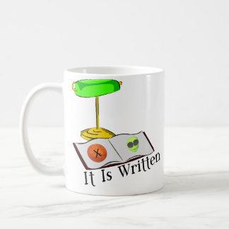 It Is Written Coffee Mug