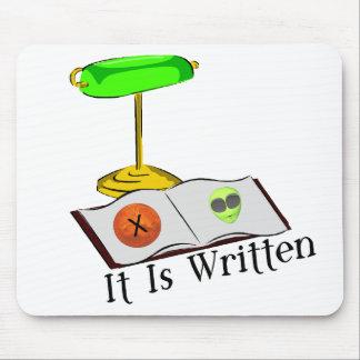 It Is Written Mouse Pad