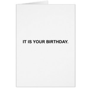 Michael scott cards greeting photo cards zazzle it is your birthday note card card bookmarktalkfo Images