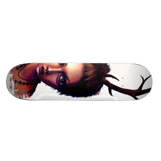 It isn't as Pretty as You'd Like to Guess Custom Skate Board