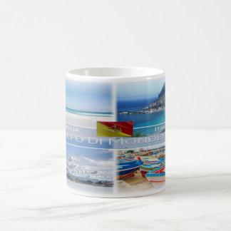 IT Italia - Sicilia - Golfo di Mondello  - Coffee Mug