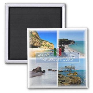 IT Italy # Abruzzo - Trabocchi Coast - Magnet
