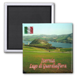 IT - Italy - Aquileia 2 Inch Square Magnet