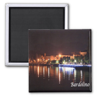 IT - Italy - Bardolino 2 Inch Square Magnet