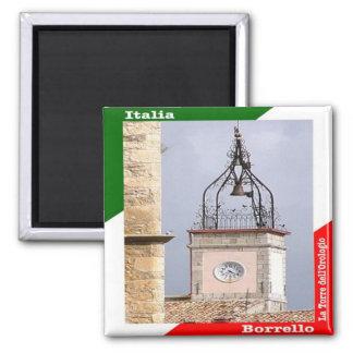 IT - Italy - Borrello - The Clock Tower Magnet