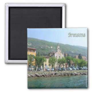 IT - Italy - Brenzone 2 Inch Square Magnet