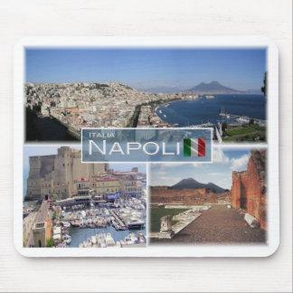 IT Italy - Campania - Napoli - Mouse Pad