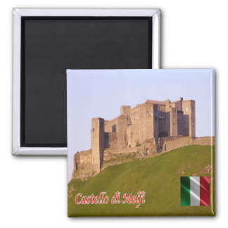 IT - Italy - Castle of Melfi 2 Inch Square Magnet