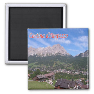 IT - Italy - Cortina D'Ampezzo Magnet