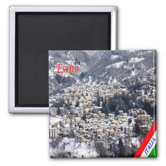 IT - Italy - Esino 2 Inch Square Magnet