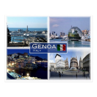 IT Italy - Genova Genoa - Postcard