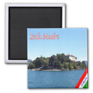 IT - Italy - Island - Madre 2 Inch Square Magnet