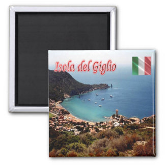 IT - Italy - Isola del Giglio - Panorama Magnet