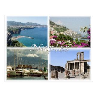 IT Italy - Italia - Naples - Postcard