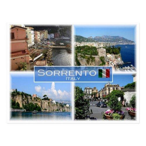 IT Italy _ Italia _ Sorrento _ Amalfi Coast _ Postcard