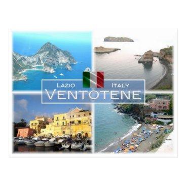 IT Italy - Lazio - Ventotene - Postcard