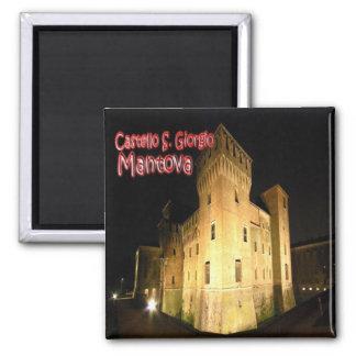 IT - Italy - Mantova - San Giorgio Castle 2 Inch Square Magnet