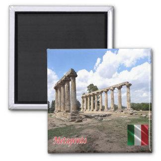 IT - Italy - Metaponto Metapontumi 2 Inch Square Magnet
