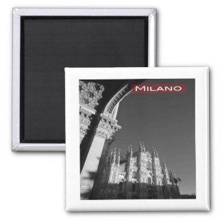 IT * Italy Milan Milano Piazza del Duomo Cathedral Magnet