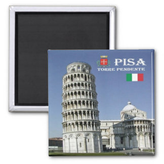 IT - Italy - Pisa - Leaning Tower Magnet