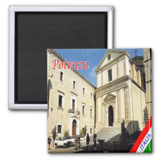 IT - Italy - Potenza 2 Inch Square Magnet