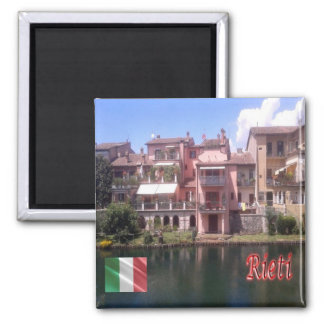 IT - Italy - Rieti - Houses of Rione Saint Lucia Magnet