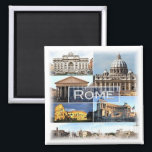 """IT * Italy - Rome - Roma Italia Magnet<br><div class=""""desc"""">Here you will find the souvenir of your vacation. This category contains fridge magnets of many locations in Italy,  Rome. Amaze friends and relatives with the unique souvenirs from your great trip! Try us!</div>"""