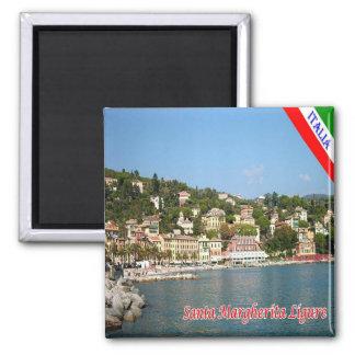 IT - Italy - Santa Margherita Ligure 2 Inch Square Magnet