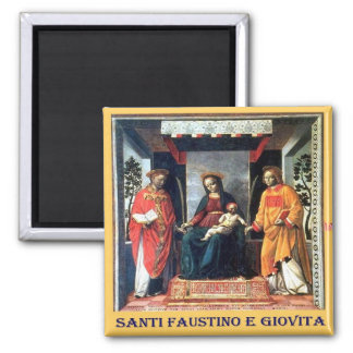 IT-Italy-Ss.Faustino and Jovita-Patrons of Brescia Magnet