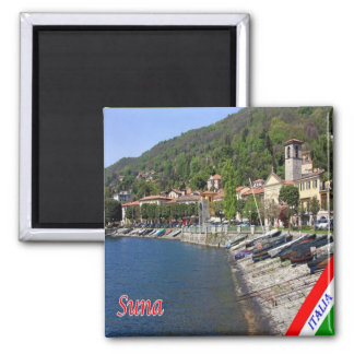 IT - Italy - Suna 2 Inch Square Magnet
