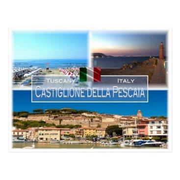 IT Italy - Tuscany - Castiglione della Pescaia - Postcard