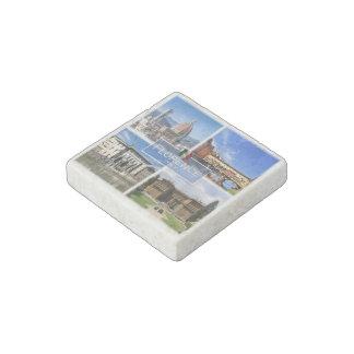 IT Italy - Tuscany - Florence - Ponte Vecchio - Stone Magnet