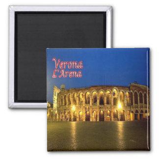 IT - Italy - Verona - Arena at Night Magnet