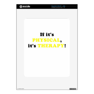 It its Physical its Therapy Decal For iPad