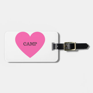 It Makes Me Happy- Camp Bag Tag