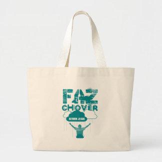 It makes To rain Sir Large Tote Bag