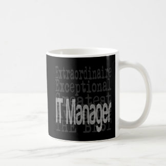 IT Manager Extraordinaire Classic White Coffee Mug