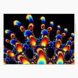 It - Mandelbrot Fractal Art Card